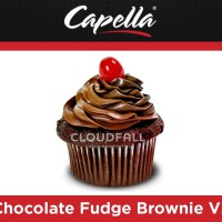 Ароматизатор Capella - Chocolate Fudge Brownie V2 (Шоколадный брауни)