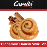 Ароматизатор Capella - Cinnamon Danish Swirl V2 (Булочка с корицей)