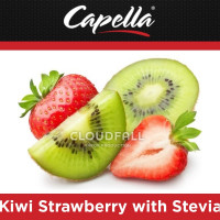 Ароматизатор Capella - Kiwi Strawberry with Stevia (Киви с клубникой)