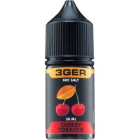 Жидкость 3Ger Salt Cherry Tobacco 30 мл