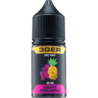 Жидкость 3Ger Salt Grape Pineapple 30 мл