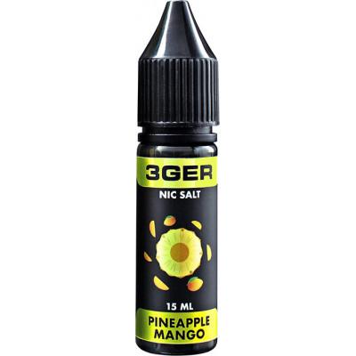 Жидкость для электронных сигарет 3Ger Salt Pineapple Mango 15 мл