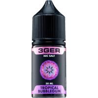 Жидкость 3Ger Salt Tropical Bubblegum 30 мл