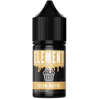 Жидкость для электронных сигарет Element Salt Cream Muffin 30 мл