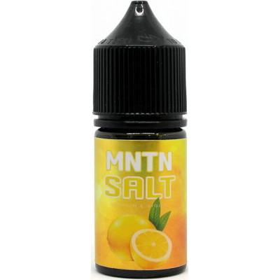 Жидкость MNTN Salt Lemon 30 мл
