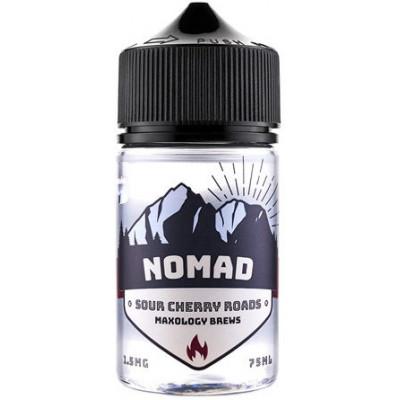 Жидкость для электронных сигарет NOMAD Sour Cherry Roads Cooler 75 мл