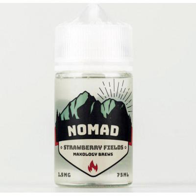 Жидкость для электронных сигарет NOMAD Strawberry Fields Cooler 75 мл