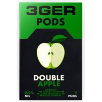 Картридж 3Ger Pods Cartridge 50 мг 1 мл 4 шт Double Apple