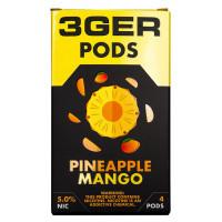 Картридж 3Ger Pods Cartridge 50 мг 1 мл 4 шт Pineapple Mango
