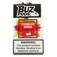 Картридж BUZ Pods Cartridge 60 мг 1 мл 4 шт Strawberry Banana