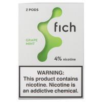 Картридж Fich Pods Cartridge 40 мг 0.8 мл 2 шт Grape Mint