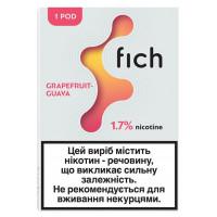 Картридж Fich Pods Cartridge 17 мг 0.8 мл 1 шт Grapefruit Guava