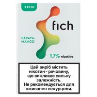 Картридж Fich Pods Cartridge 17 мг 0.8 мл 1 шт Papaya Mango