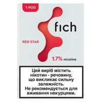 Картридж Fich Pods Cartridge 17 мг 0.8 мл 1 шт Red Star