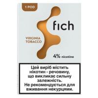Картридж Fich Pods Cartridge 40 мг 0.8 мл 1 шт Virginia Tobacco