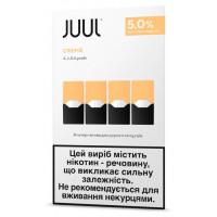 Картридж Juul Cartridge 50 мг 0.7 мл 4 шт Creme Brulee