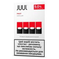 Картридж Juul Cartridge 50 мг 0.7 мл 4 шт Fruit
