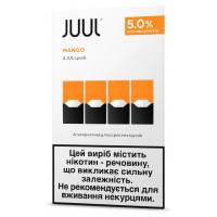 Картридж Juul Cartridge 50 мг 0.7 мл 4 шт Mango