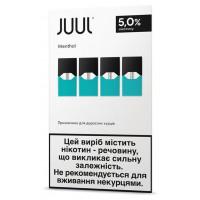 Картридж Juul Cartridge 50 мг 0.7 мл 4 шт Menthol