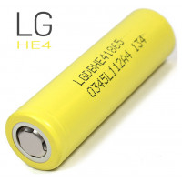 Акумулятор LG HE4 18650 2500 mAh