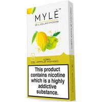 Картридж MYLE Pods Cartridge 50 мг 0.9 мл 4 шт Iced Apple Mango