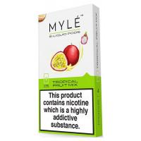 Картридж MYLE Pods Cartridge 50 мг 0.9 мл 4 шт Tropical Fruit Mix