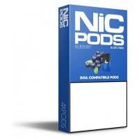 Картридж Nic Pods Cartridge 50 мг 0.7 мл 4 шт Blueberry