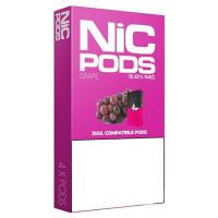 Картридж Nic Pods Cartridge 50 мг 0.7 мл 4 шт Grape