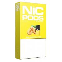 Картридж Nic Pods Cartridge 50 мг 0.7 мл 4 шт Peach