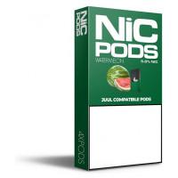 Картридж Nic Pods Cartridge 50 мг 0.7 мл 4 шт Watermelon