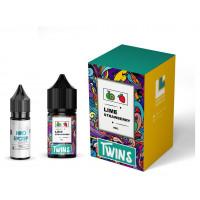 Набор для жидкости Twins Salt Lime Strawberry 50 мг 30 мл