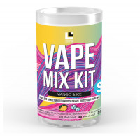Набор для жидкости Vape Mix Kit salt Mango Ice 30 мл