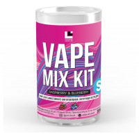 Набор для жидкости Vape Mix Kit salt Raspberry Blueberry 30 мл